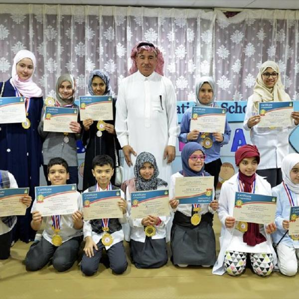 Science Fair participants & winners Grade (3&4&5&6)