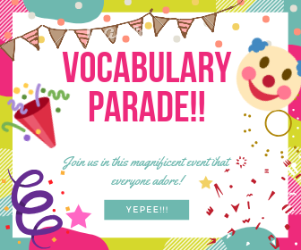 vocabulary parade