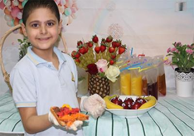 Grades: Healthy Food Competition