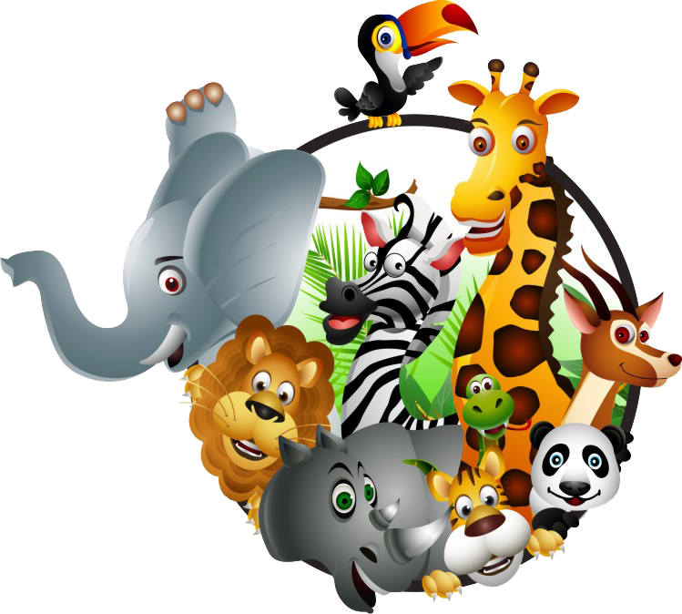index of   kindergarten  images  logo clip art of zoo animal train clipart zoo animals black and white